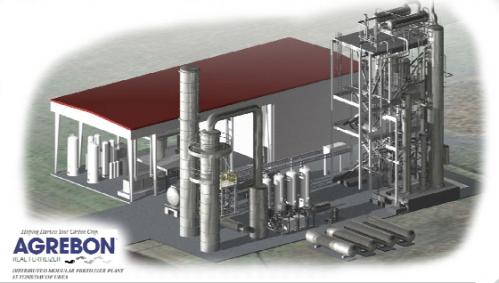 Agrebon's distributed modular fertilizer plant